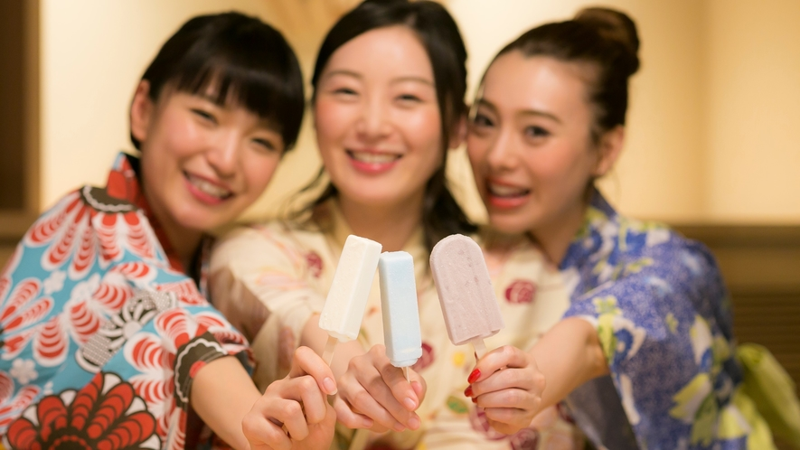 【サービス】湯上りのアイスキャンディー(夜)