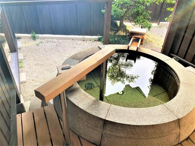 【離れ 飛雲(ひうん)】天然温泉露天風呂