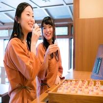 【サービス】湯上り処の乳酸菌飲料(朝のみ)