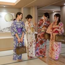 【女子旅】館内は廊下も畳張り!素足でお過ごしいただけます。