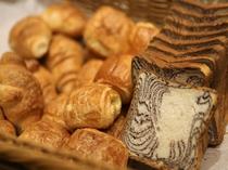【朝食バイキング】パンコーナー