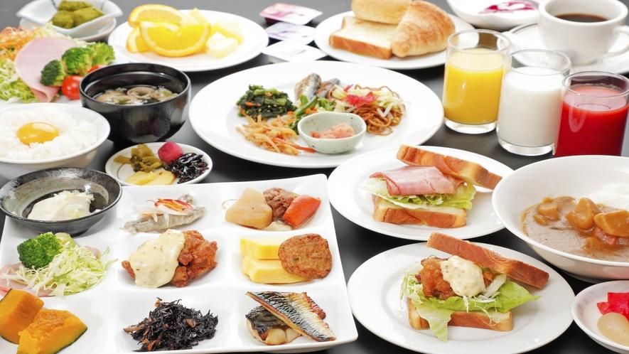 朝食バイキング 盛り付けイメージ2