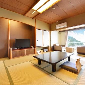 アップグレード:【本館/禁煙】和室12.5畳/高層海眺望