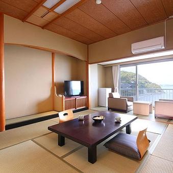 アップグレード:【本館/禁煙】和室 10畳/高層階海眺望