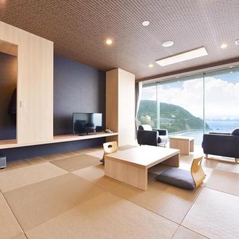 アップグレード:【本館/禁煙】和室12畳/最上階 海眺望