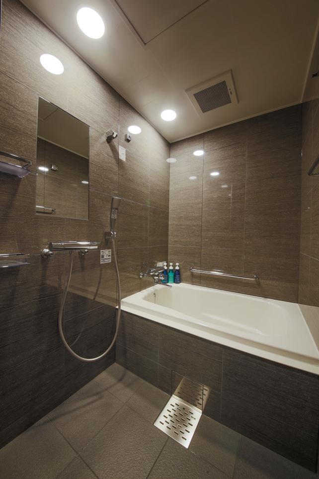 スタンダードツイン・トリプルルーム浴室