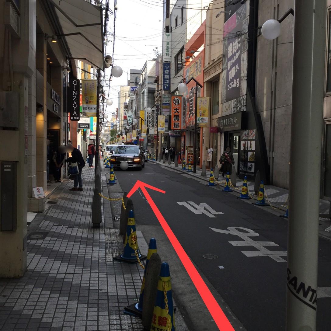 心斎橋駅からのアクセス(5)
