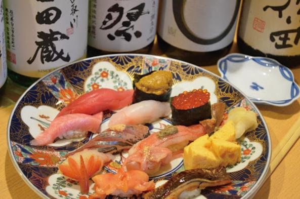 豪華夕食『居酒屋・寿司ささき』大将おまかせコース