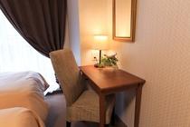 【客室写真】全室優先・無線LAN完備。ビジネスワークに最適♪