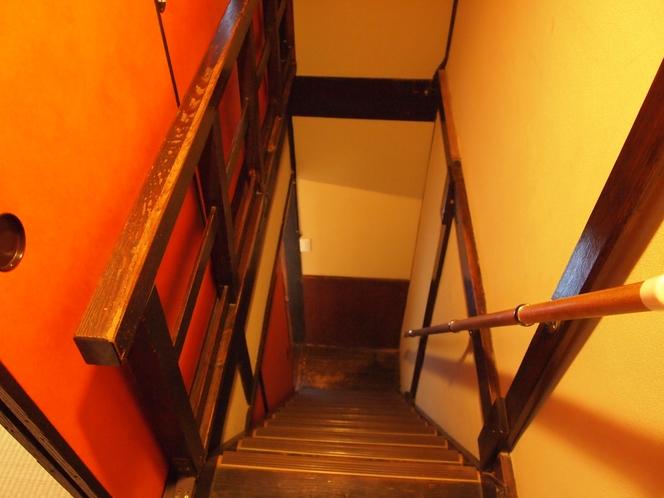 隠し階段 ふすま