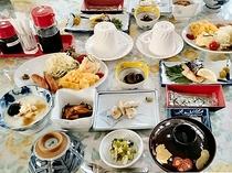 オーナー手作りの朝食一例♪