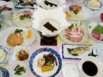オーナー手作りの夕食一例♪