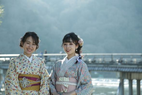 浴衣で京都散策 京会席付宿泊プラン