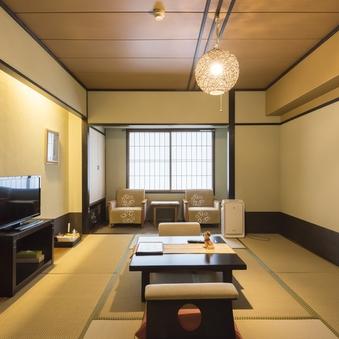 スタンダード客室Aタイプ:和洋室18畳〜(ベッドあり)