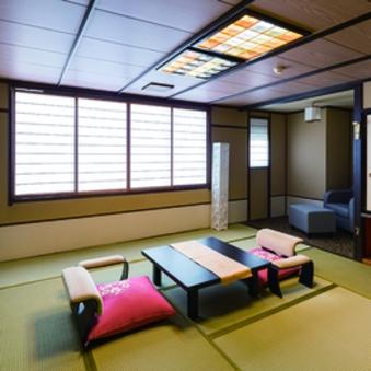 スタンダード客室Bタイプ:和洋室14.5畳〜(ベッドあり)