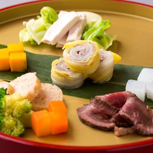 ワンちゃんのご夕食 会席 2160円