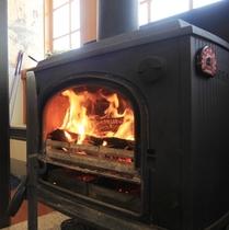 暖炉であったか♪