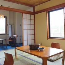 *和室8畳一例/ほっと落ち着く純和風のお部屋
