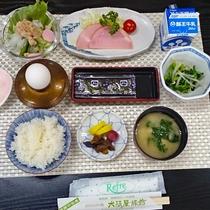 *朝食一例/朝ごはんの定番が味わえる和食膳