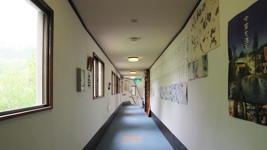 *館内一例/館内の移動は階段となりますのでご注意ください