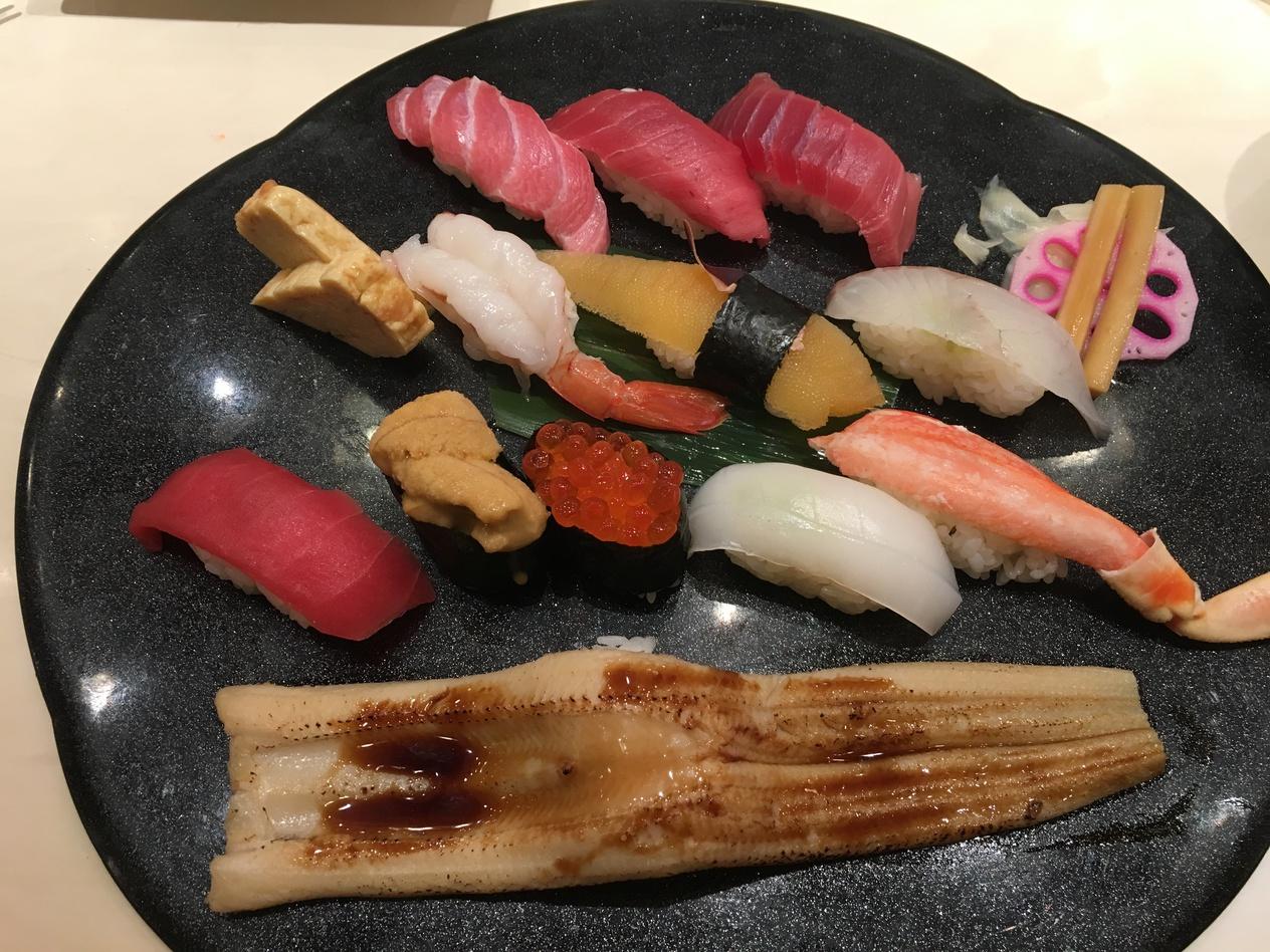 浅草のお寿司屋さん