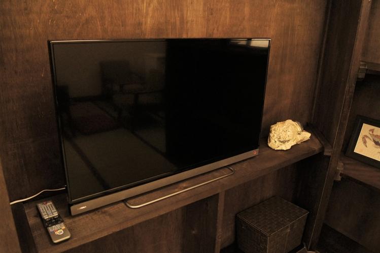 1階:40インチ液晶テレビ