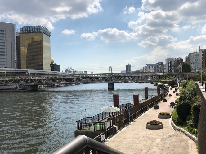 隅田川ウォーキング・ジョギングコース
