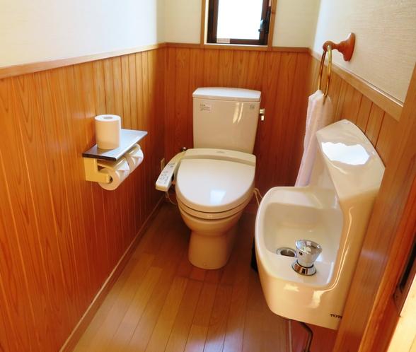 コテージトイレ