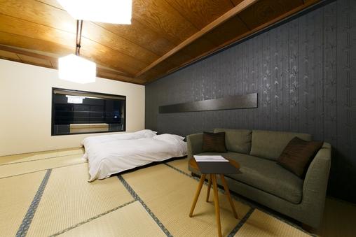 DELUXE 温泉露天風呂付き和室15畳 ツイン 47平米