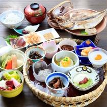 地物と旬に拘った品を揃えた拘りの和朝食