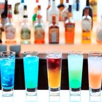 レストランでは各種ドリンクも豊富 ※アルコール・ノンアルコール共