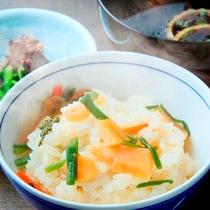 春香る筍と山菜の炊込みご飯