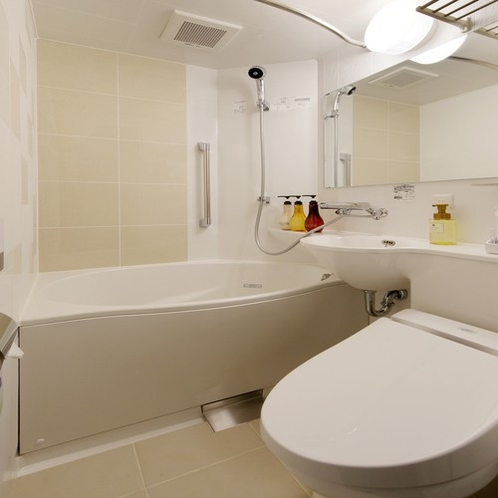 シングル/ダブル用バスルーム