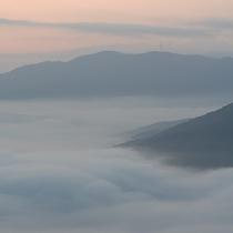 【雲海】標高465mのレストランからの展望は抜群!!