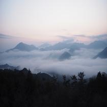 【雲海】竹田城跡は望めませんが、雲海を見るなら朝来で一番!?