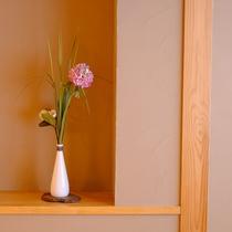 【和室10畳 トイレ付】花瓶