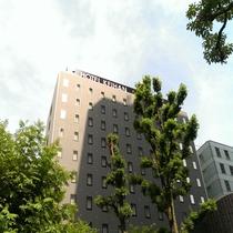 ⑤ホテル京阪淀屋橋に到着です。