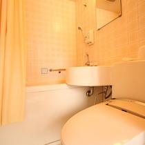 ユニットバス 全室洗浄機能付きトイレ完備