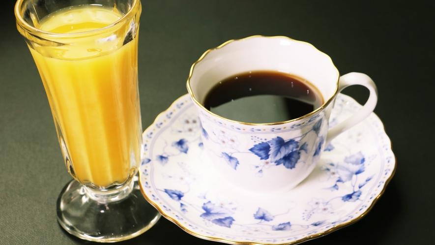 【ご朝食一例-ドリンク】