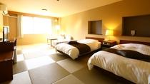 ■【本館】和モダン特別室(畳+ベッド)のお部屋