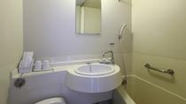 ■洋室ツインルーム バスルームの様子