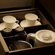 客室茶器・アイスペール・ポット