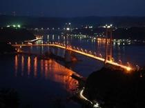 呼子大橋の夜景