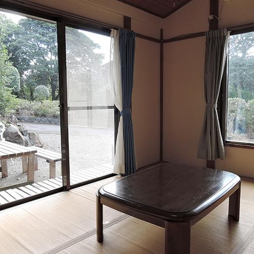 *【和室】まるで自分の家にいるかのようにくつろげる畳のお部屋。