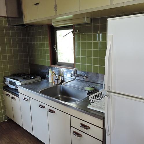 *【キッチン】各種調理器具をご用意しております。食材・調味料はお持込下さい。