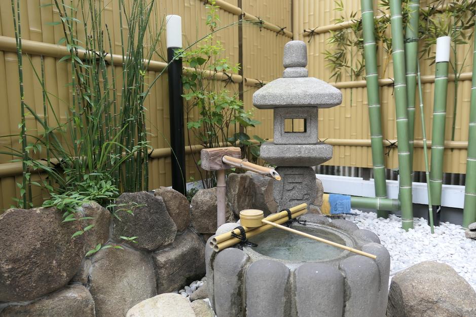 ホテル内にある!日本庭園を眺めて心和む♪2