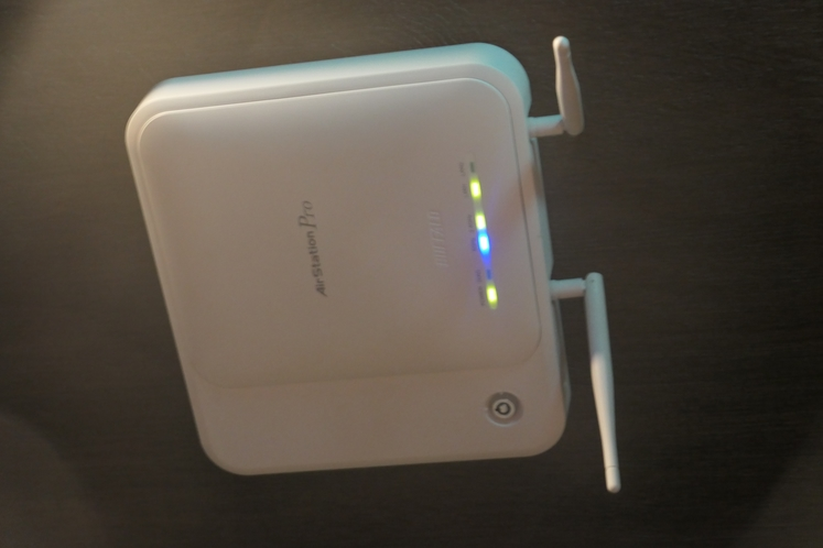 インターネット使い放題♪ 館内無料Wi-fi各所に設置