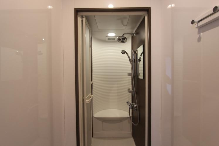 綺麗なシャワールーム
