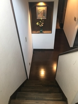 2階への階段