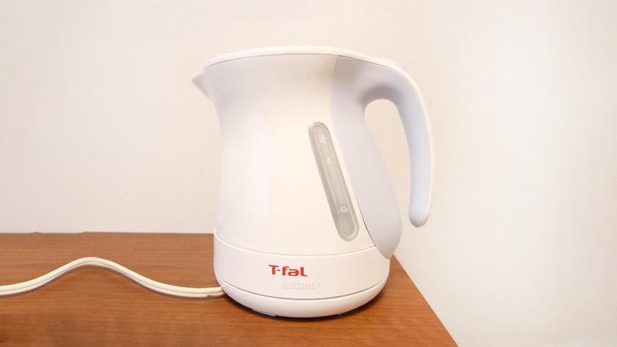 湯沸しポット(全部屋設備) ※イメージ